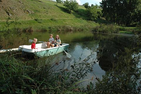 Lustige Bootsfahrt
