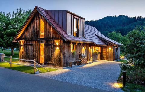 Abendstimmung - Scheune Anni Ferienhaus
