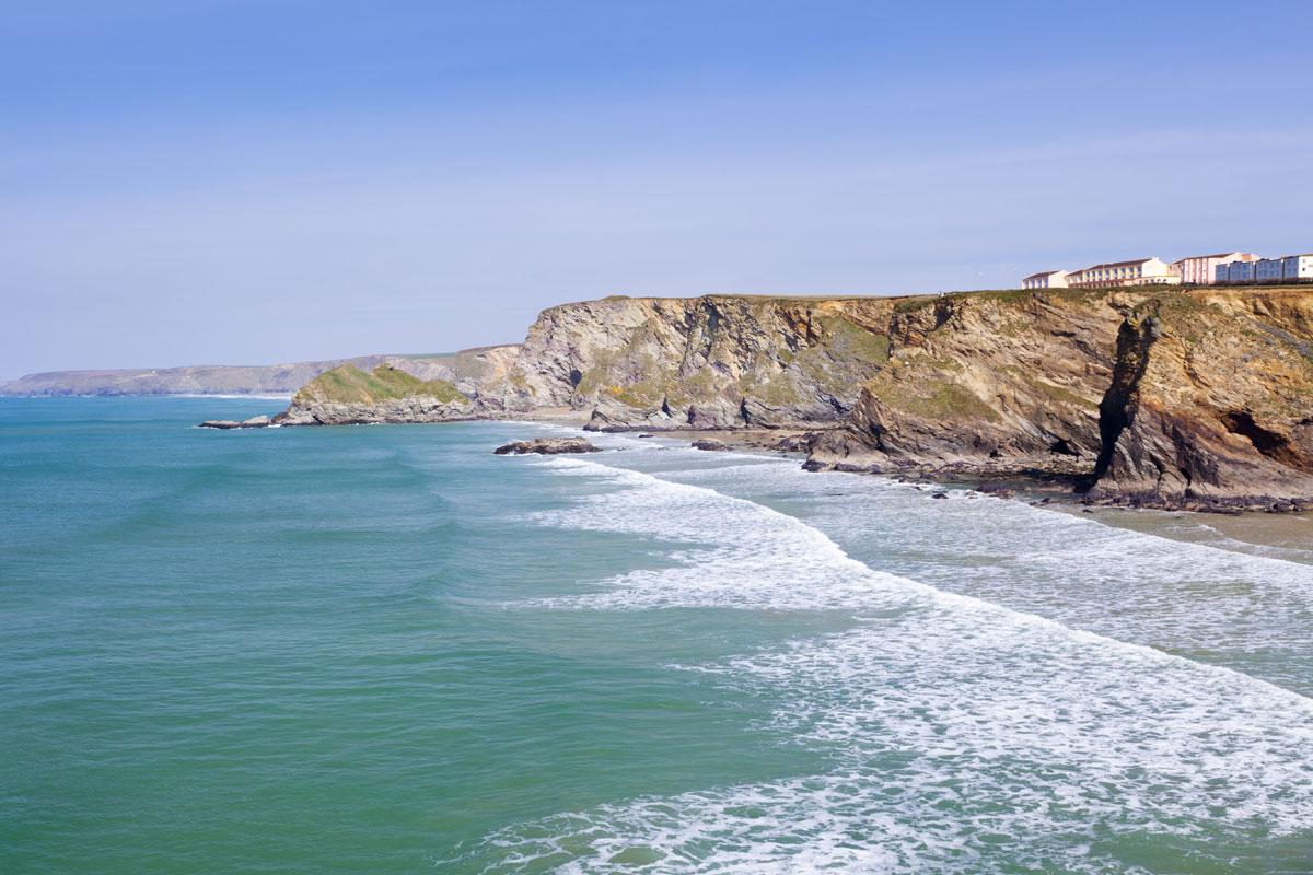 <p>Trevelgue Head - Nordküste - Cornwall</p>