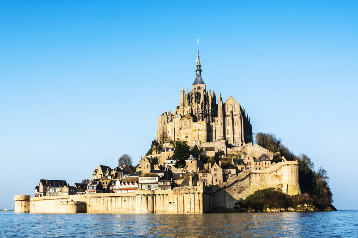 Mont-Saint-Michel in der Normandie