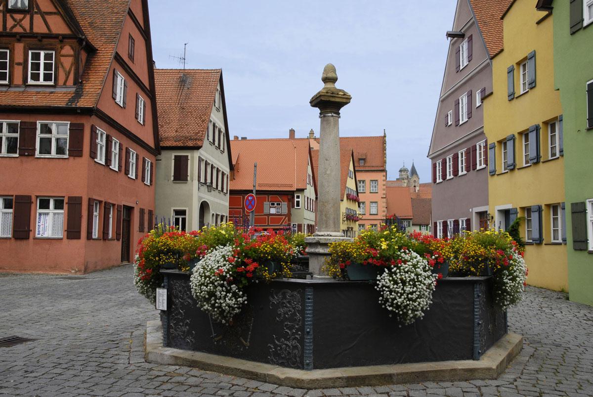 Brunnen in der Nördlinger Straße, Dinkelsbühl