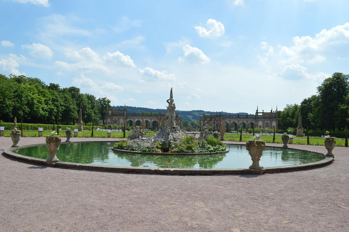 Schlossgarten © Tourist-Information Weikersheim