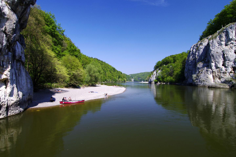 Donaudurchbruch bei Kehlheim
