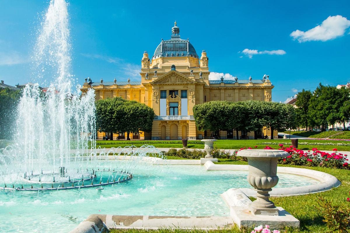Kunstpavillon in Zagreb