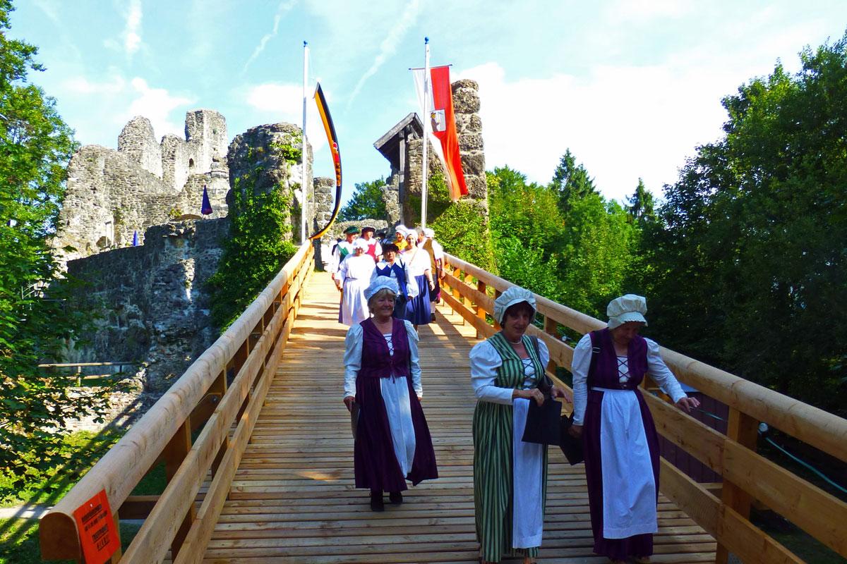 © Tourismusbüro Weitnau - Burgfest