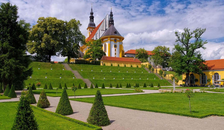 Kloster Neuzelle mit Wallfahrtskirche