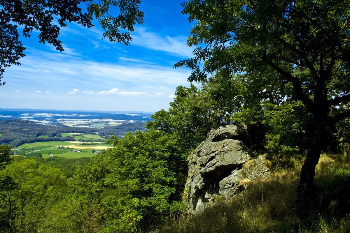 Aussicht Bayerische Rhön