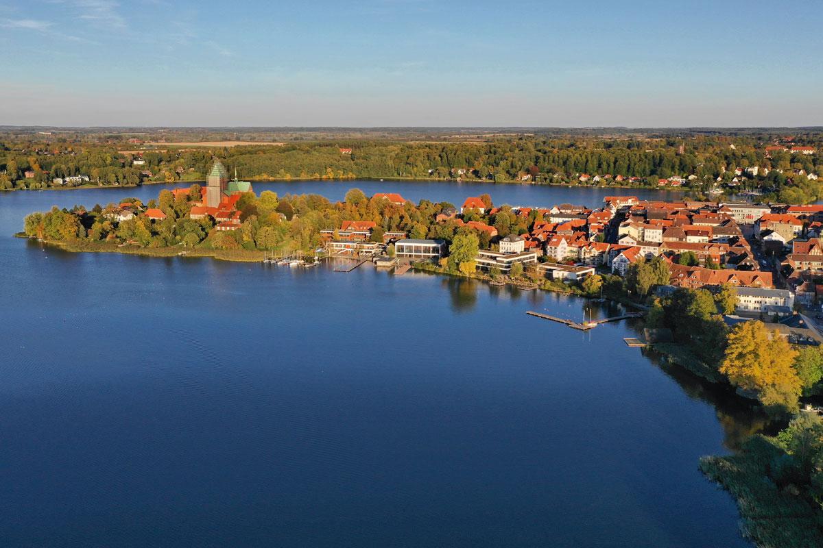 Ratzeburg im Südlichen Schleswig-Holstein aus der Luft