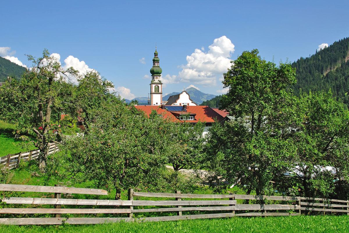 Oberau in der Region Wildschönau Tirol