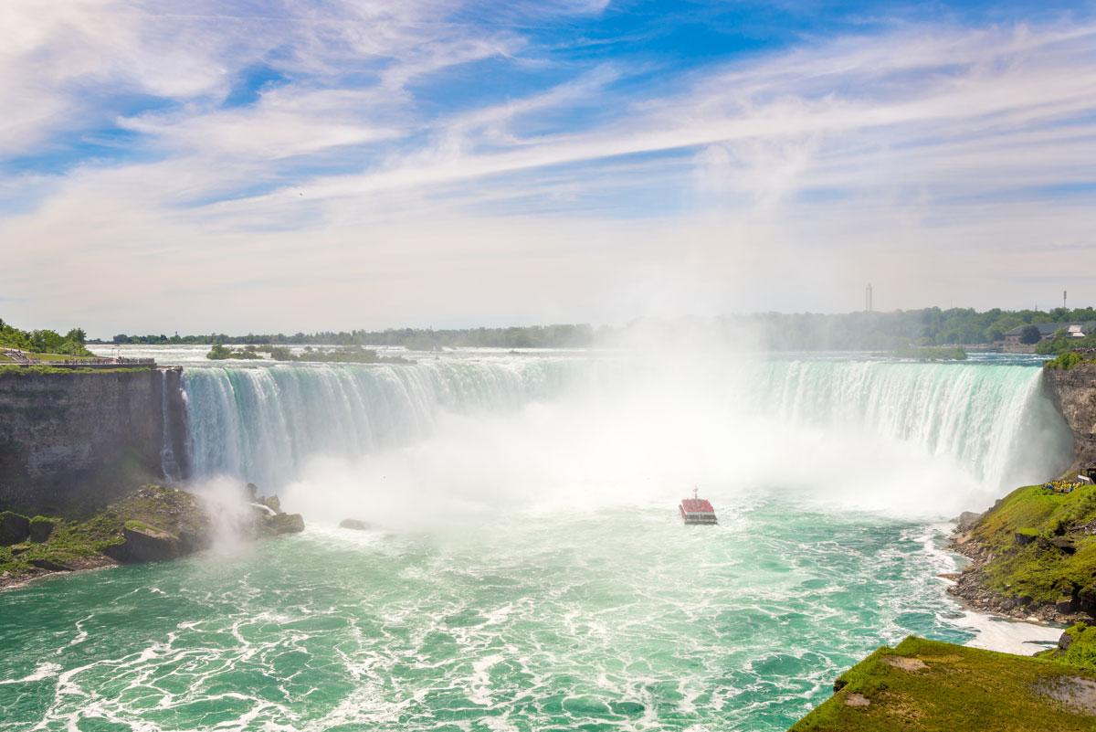 Horseshoe Falls, ein Teil der bekannten Niagara Fälle