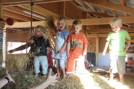 Kleinkindertage am Ederhof in Schöllnach