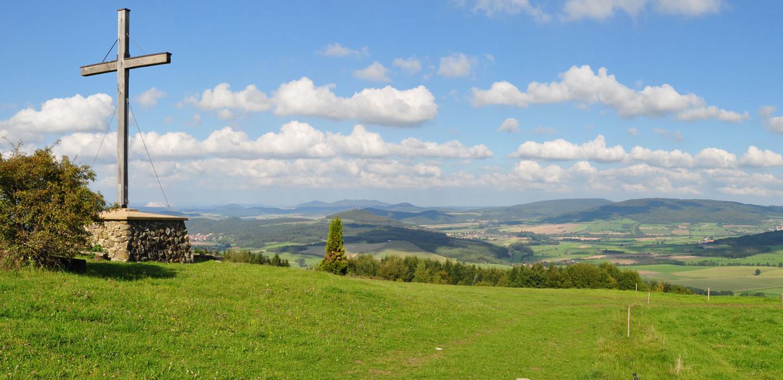 Landschaft in der Rhön