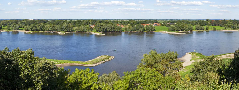 Panorama Elbe Niedersachsen Wendland