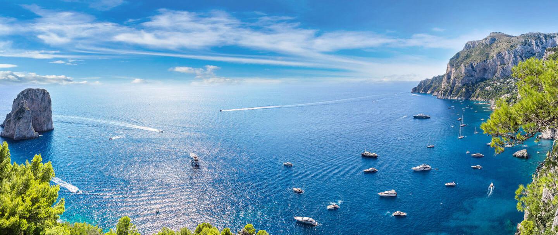 Insel Capri in Italien