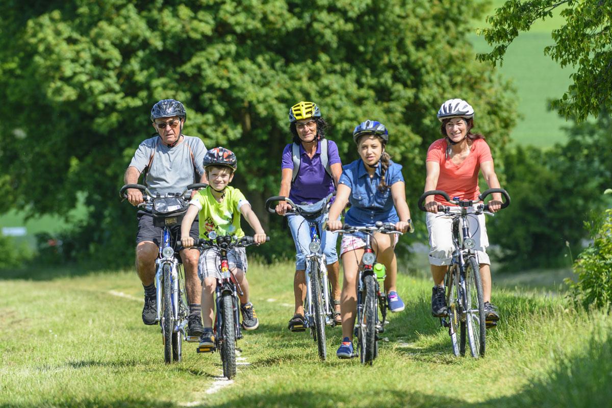Radtour mit der Familie durch das Hessische Sauerland