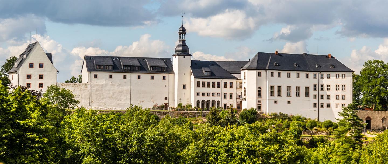 Schloss Wildenfels in Westsachsen