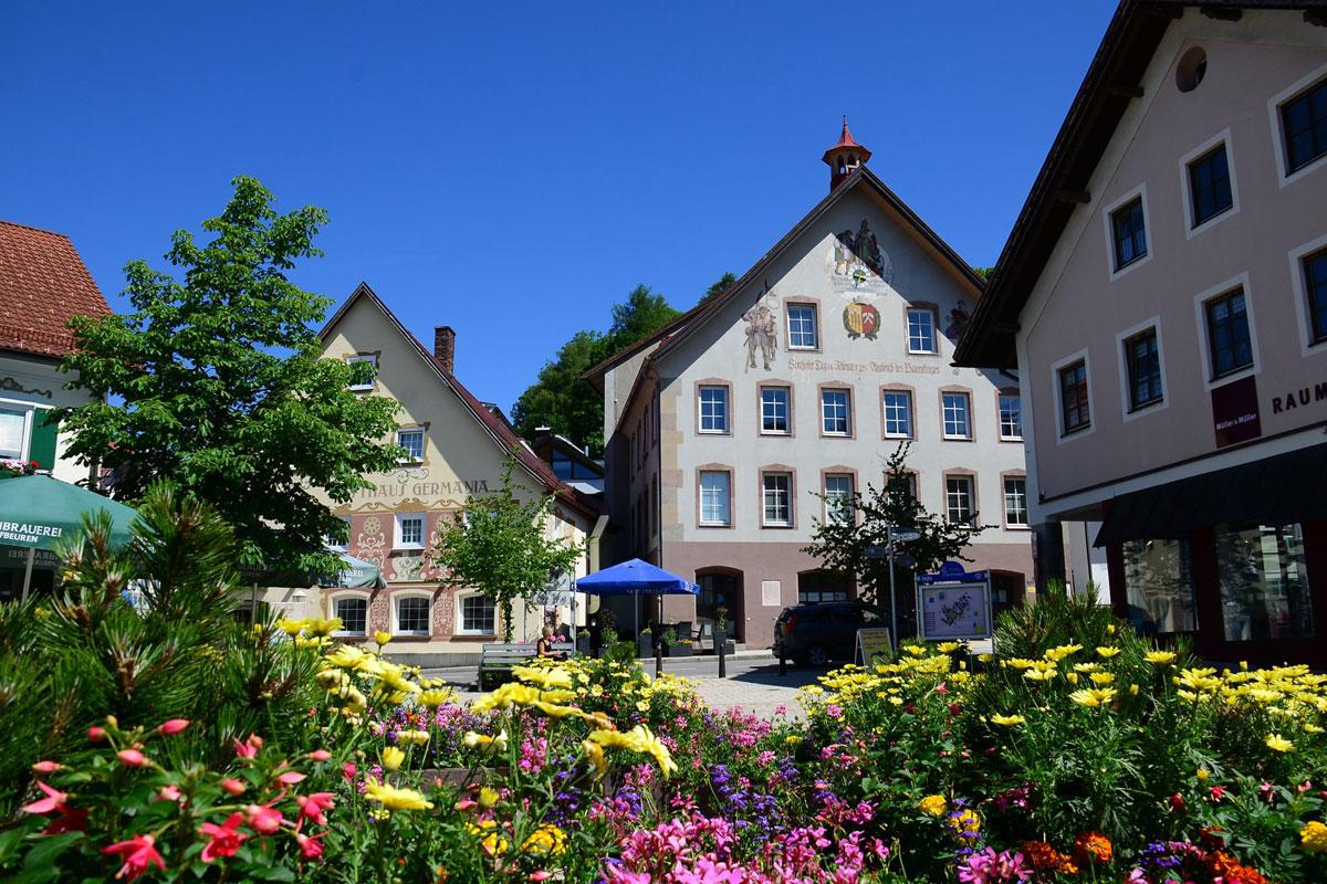 <p>@ Torurist-Information Sonthofen - Innenstadt von Sonthofen</p>