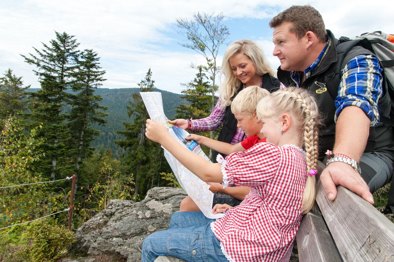 © Tourist-Info Drachselsried - Wandern mit der ganzen Familie