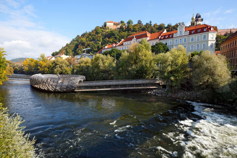 Fluss Mur in Graz