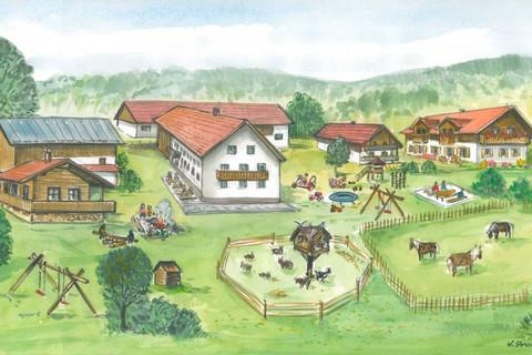 Familienferienhof Wenighof - Ein Bauernhof wie im Bilderbuch