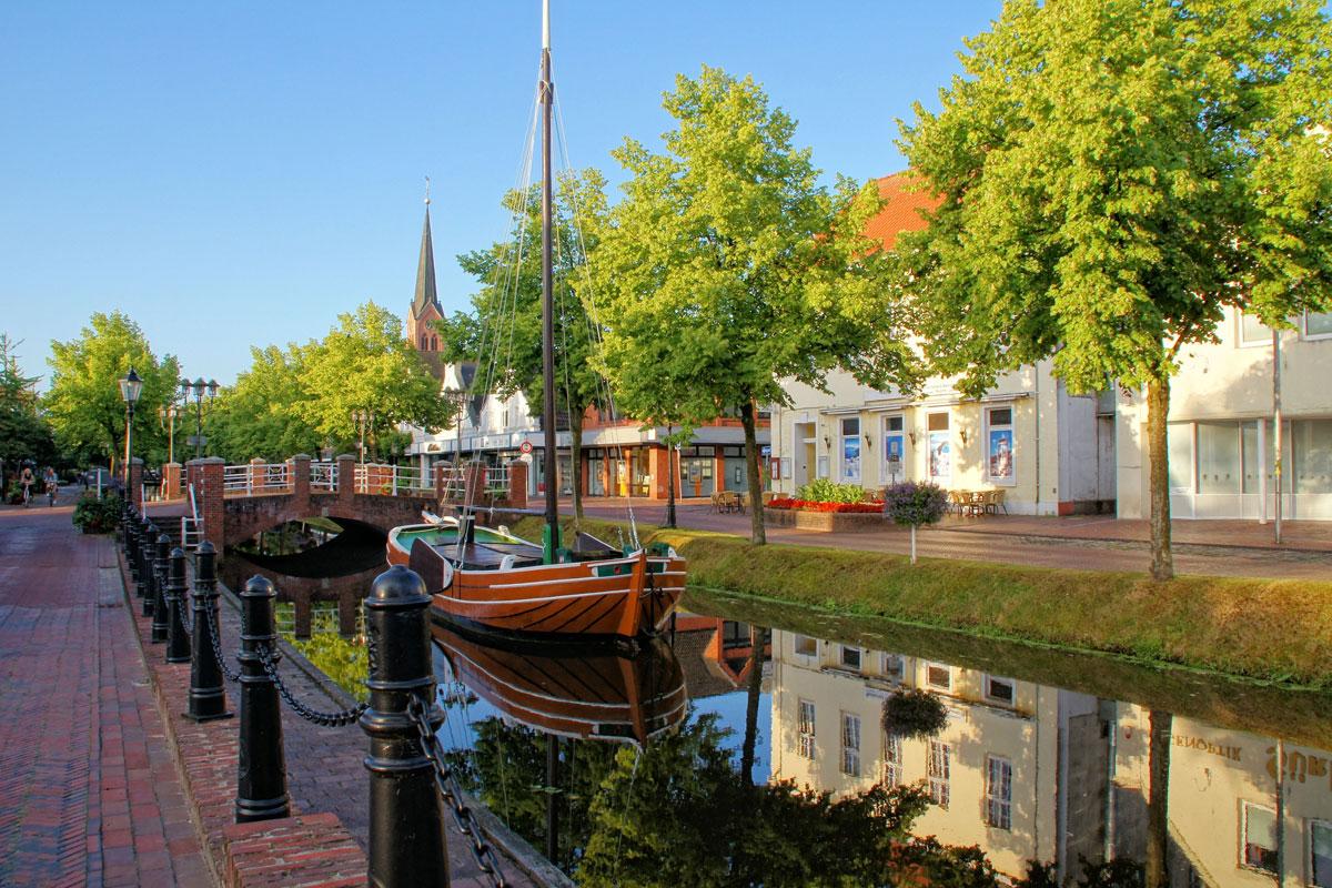 <p>Der Emsland Kanal</p>