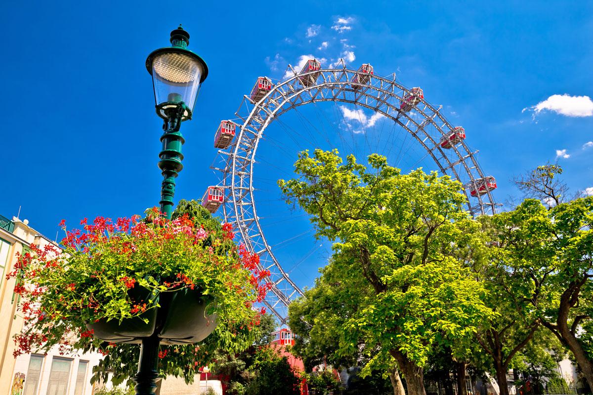 Riesenrad auf dem Prater in Wien