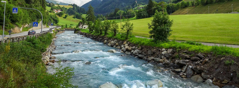 Fluss Eisack