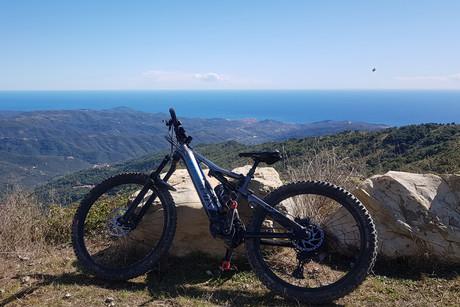 E- MTB Urlaub in Ligurien