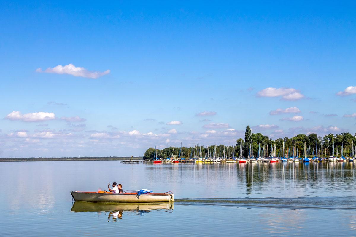 Bootfahren auf dem Steinhuder Meer
