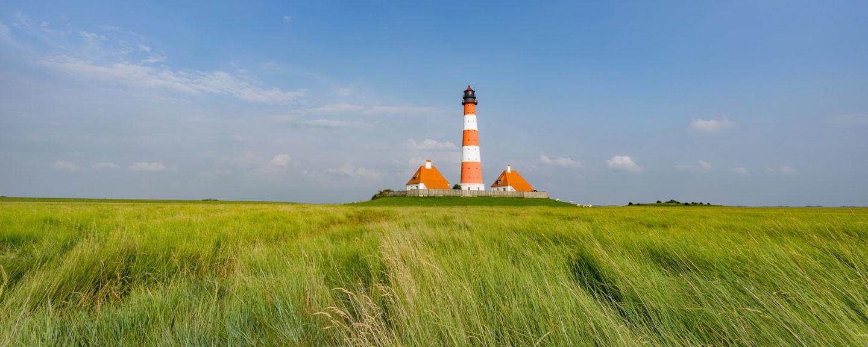 Leuchtturm an der Nordseeküste