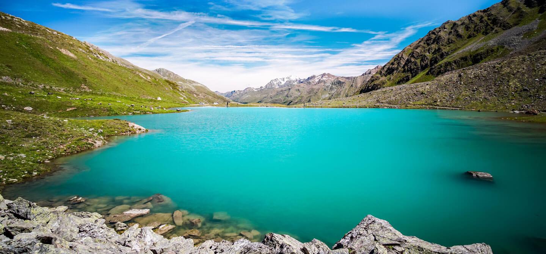 Bergsee beim Kaunertaler Gletscher