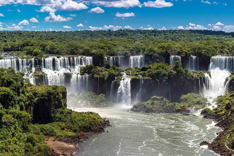 <p>Iguazú-Wasserfälle</p>