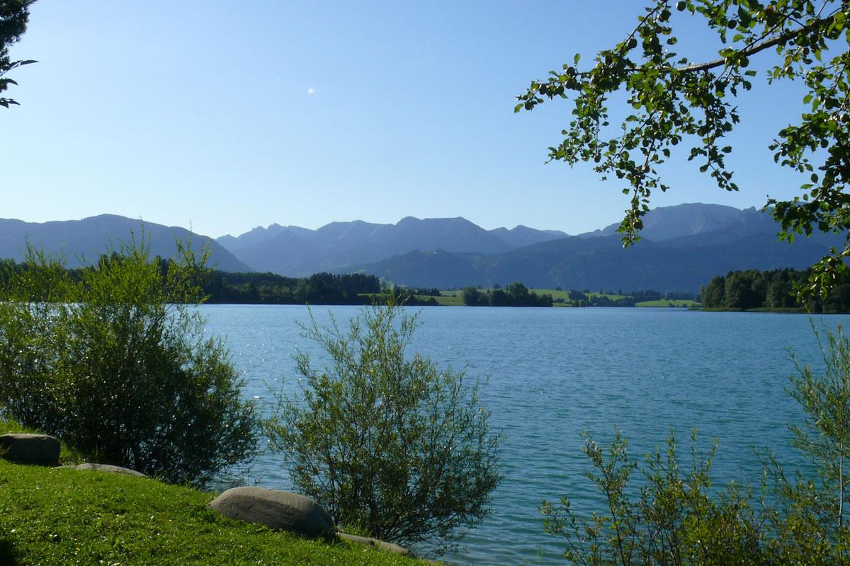 © Tourist Information Roßhaupten - Forggensee