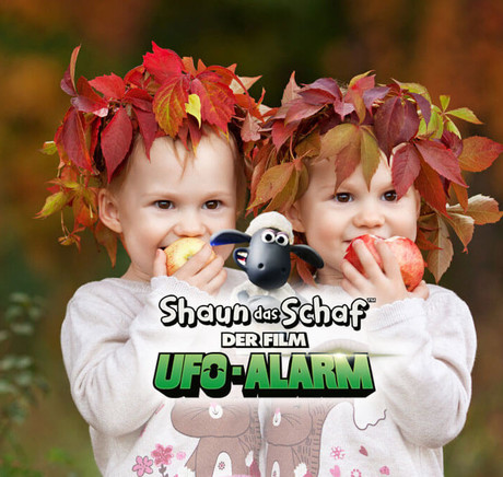 Herbst auf dem Bauernhof mit Shaun das Schaf