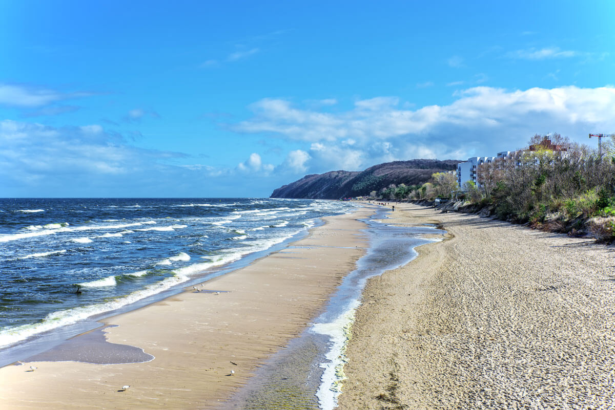 Der Strand Misdroy