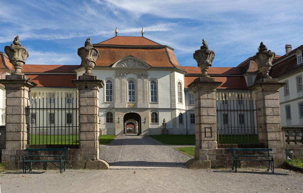 <p>Schloss Fasanerie bei Fulda</p>