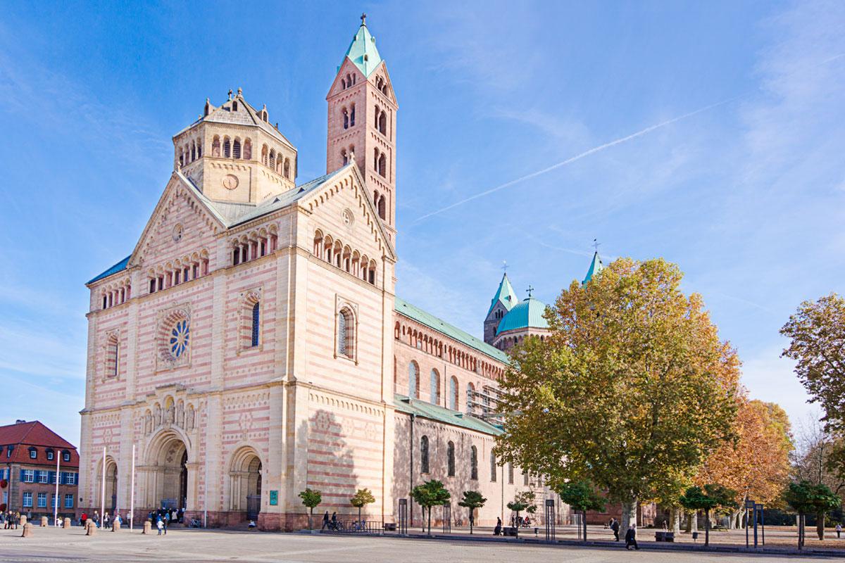 Der Dom zum Speyer in der Pfalz