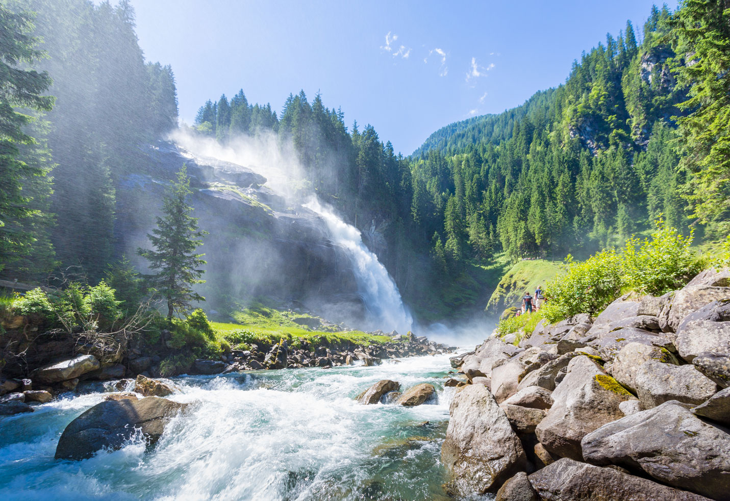 Krimmler Wasserfälle Hohe Tauern Nationalpark SalzburgerLand