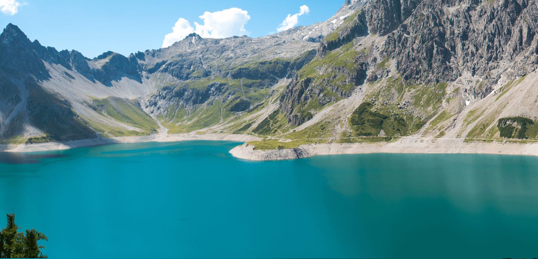 Luenersee in Vorarlberg