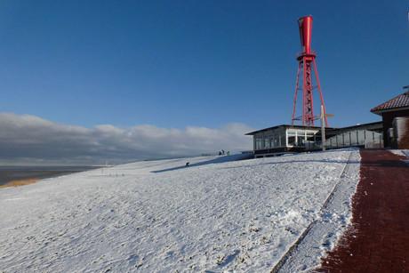 Ferienhof Renken - Winterliche Nordsee am warmen Ofen