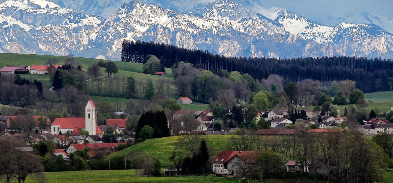 Luftbild Günzach - © Gemeinde Günzach