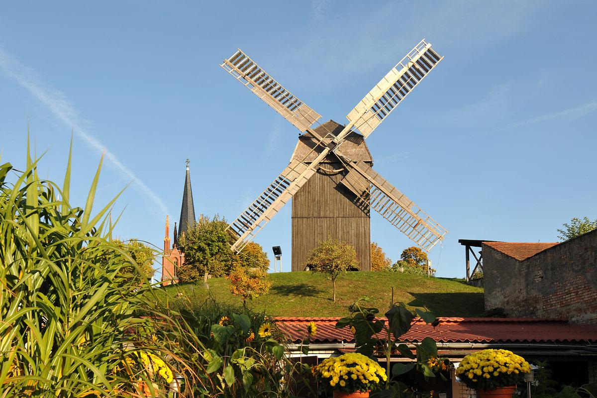 Bockwindmühle in Werder im Havelland