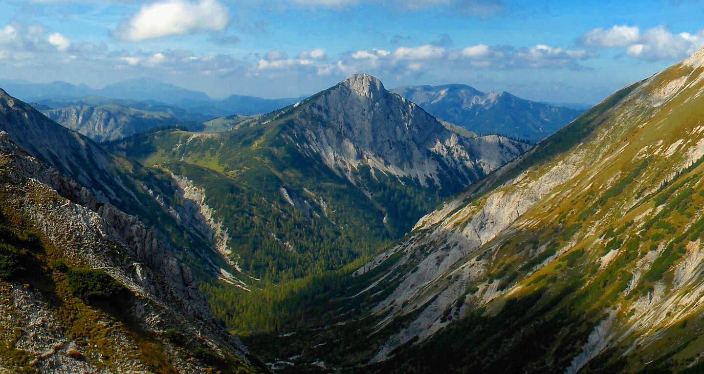 Bergpanorama Wiener Alpen
