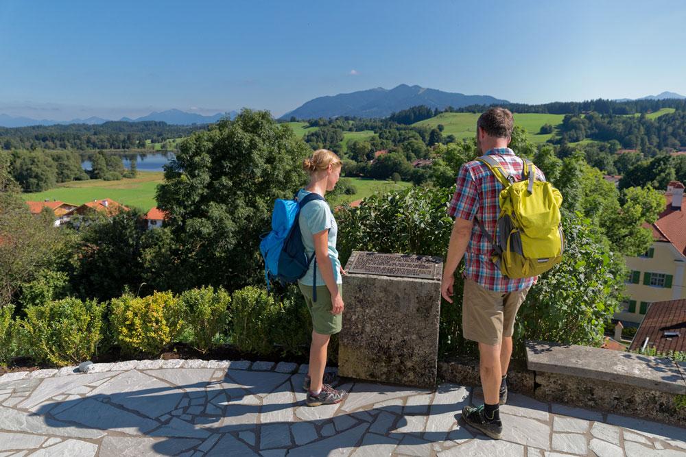 Aussichtspunkt über Bad Bayersoien - © Anton Brey