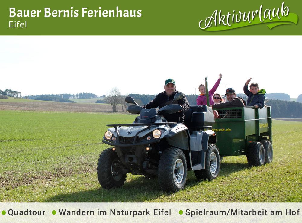 Bauer Bernis Ferienhaus - Jubiläumstipp