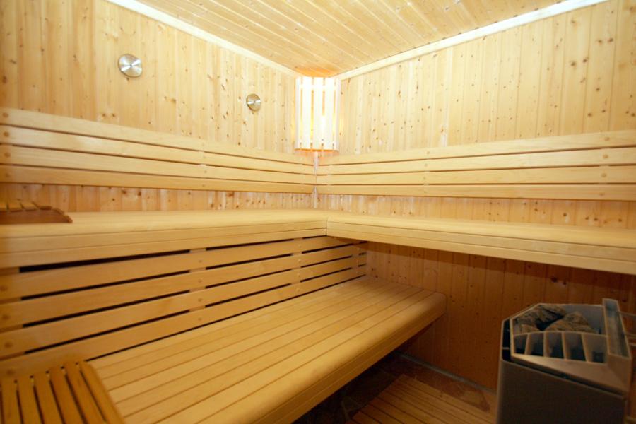 Sauna in der Wellnessoase auf dem Bauernhof Kilger