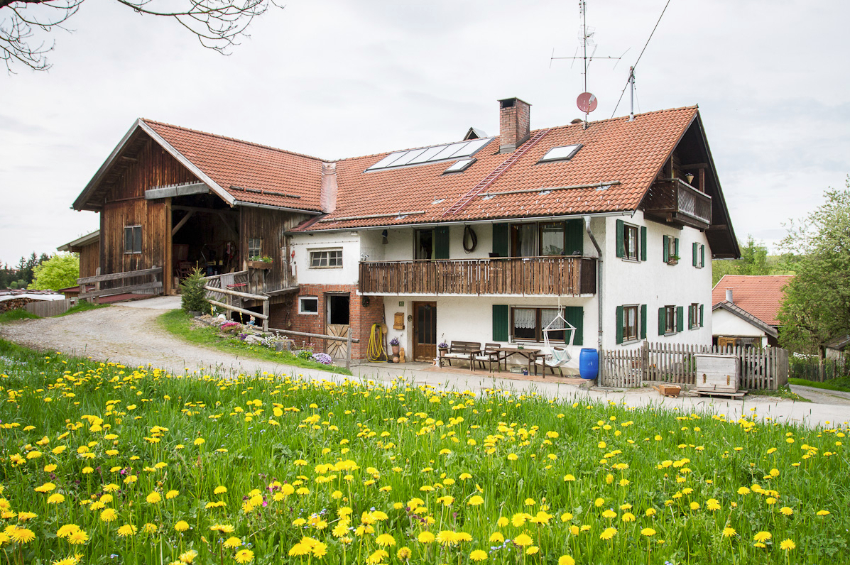 Herrliche ostallg u wandertouren vom bauernhof schm lz in - Bauernhof garten ...