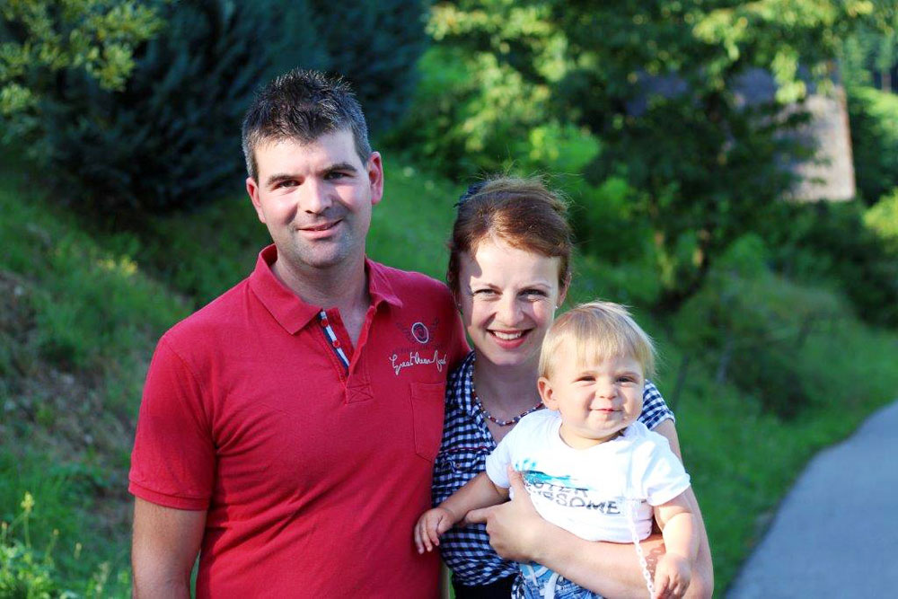 Familie Wußler vom Fiegenhof