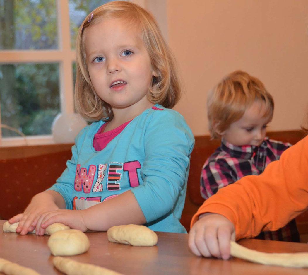 Holzofenbäckerei für Kinder