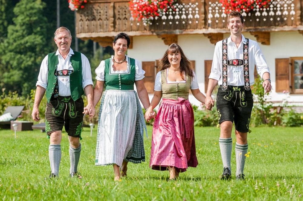 Die Familie Danner erwartet ihre Gäste auf dem Hussnhof